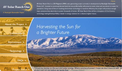 AV Solar Ranch