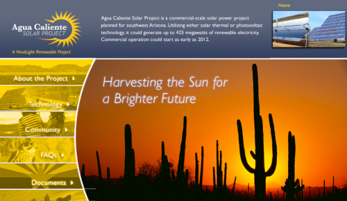 nextlight renewable power agua caliente