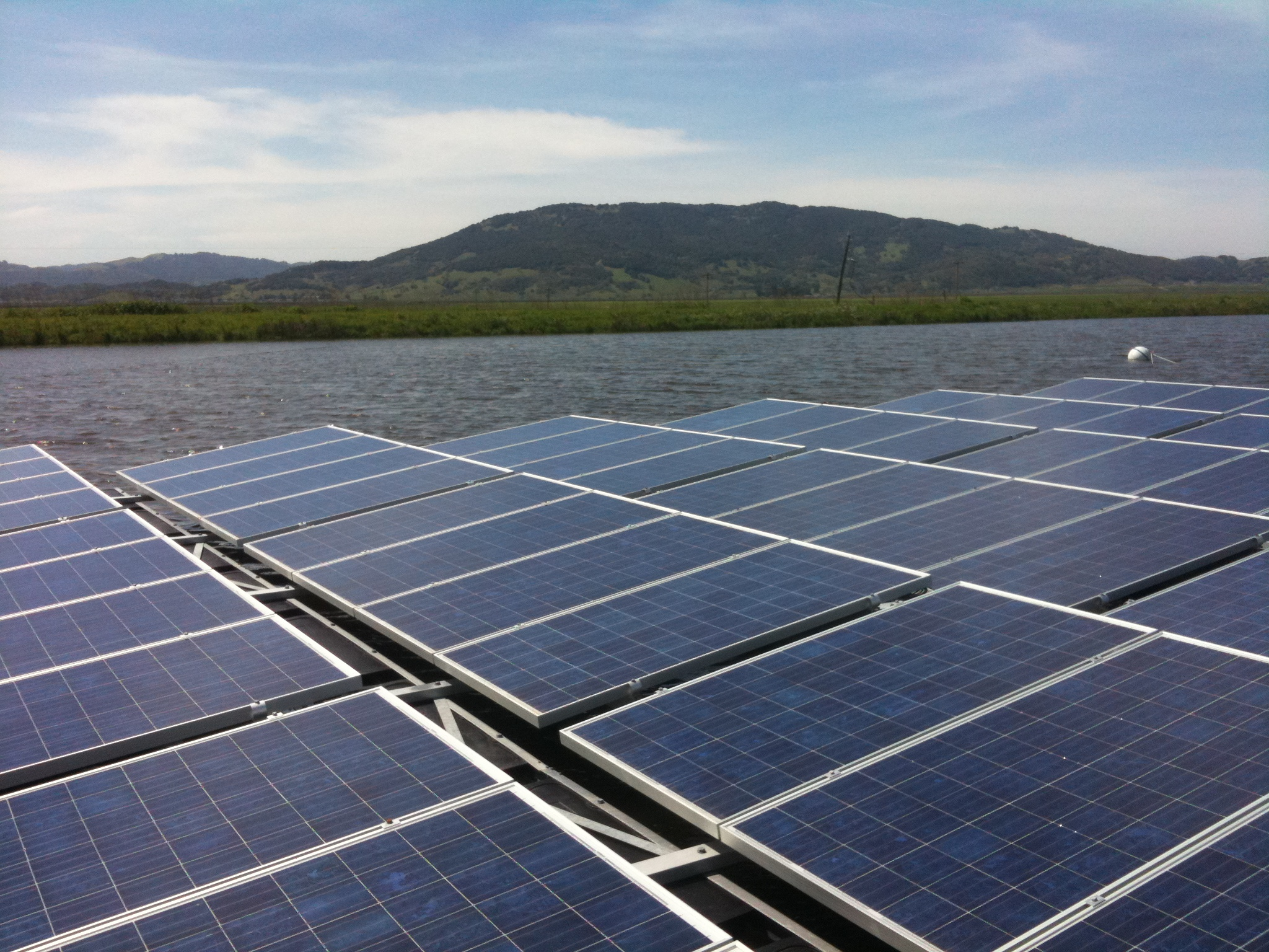Solar Power Plants Green Wombat